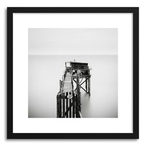Fine art print Port Des Barques 1980 by artist Ronny Behnert