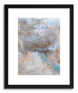 hide - Art print Majestic VI by artist Michele Morata in natural wood frame
