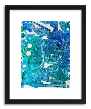 Fine art print Sea Leaves by artist Alicia Jones