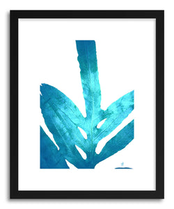 Fine art print Ocean Blue Fern by artist Alicia Jones