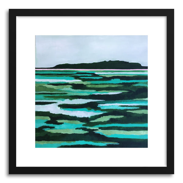 Fine art print Lowcountry Rythmin Green by artist Cory McBee
