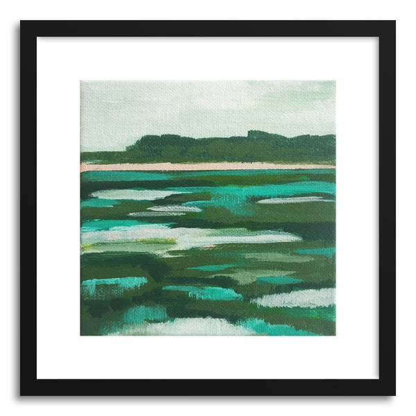 Fine art print Rythmic Greens by artist Cory McBee