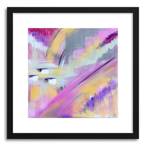 hide - Art print Passion Dance by artist Cory McBee in natural wood frame