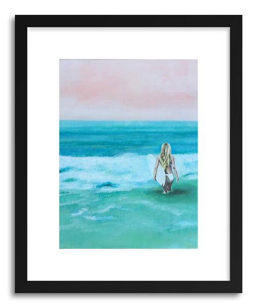 Fine art print The White by artist Cory McBee