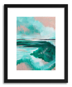 hide - Art print Emerald Dreams by artist Cory McBee on fine art paper