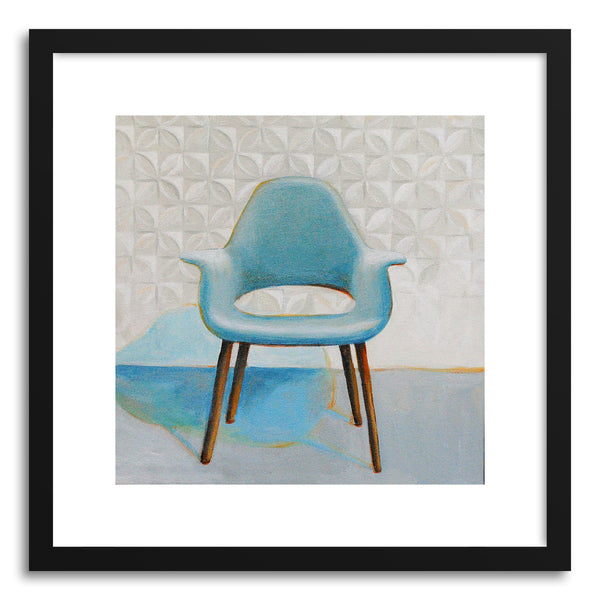 Fine art print Eames And Saarinen Organic Chair by artist Laura Browning