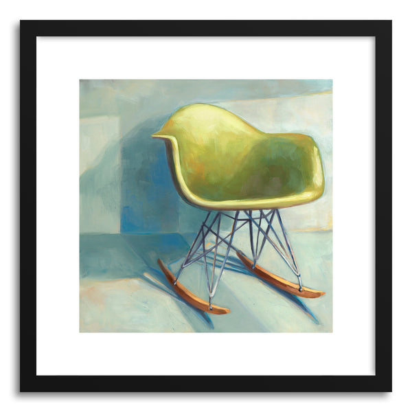 Fine art print Rocker Eames by artist Laura Browning