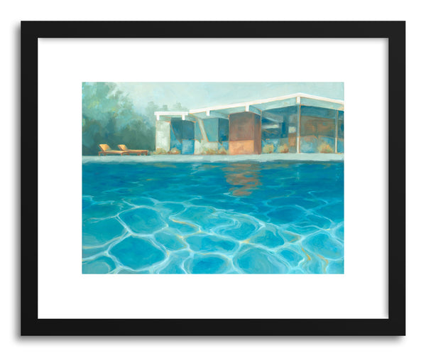 Fine art print Eichler Summer by artist Laura Browning