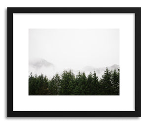 Fine art print Foggy Forest No.2 by artist Kristine Weilert