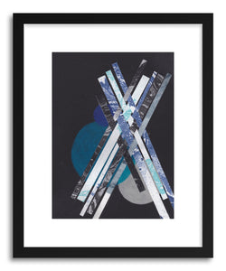 Art print Blue Moons No.6 by artist Jane Philipps