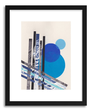 Art print Blue Moons No.8 by artist Jane Philipps