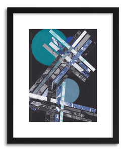 Art print Blue Moons No.10 by artist Jane Philipps