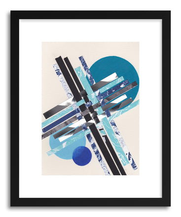 Art print Blue Moons No.11 by artist Jane Philipps