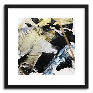 hide - Art print Art No.2 by artist Samantha Rueter in white frame