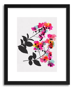 hide - Art print Myrtle No.4 by artist Garima Dhawan in white frame