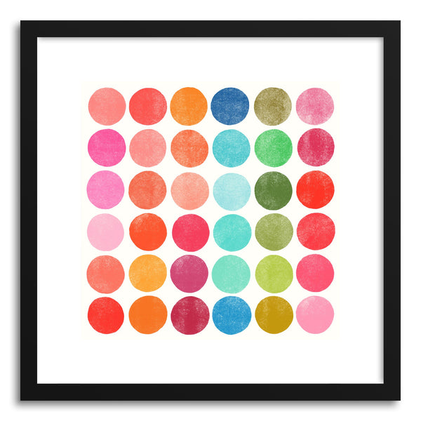 Fine art print Colorplay No.5 by artist Garima Dhawan