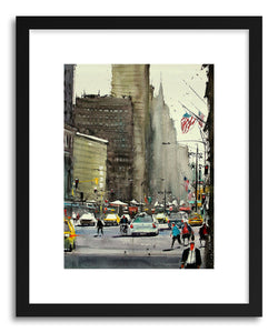 hide - Art Print American Roads II by artist Maximilian Damico on fine art paper