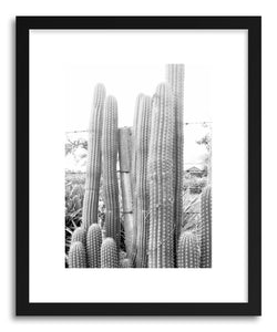 hide - Art print Print 88 by artist Lola Peacock in white frame