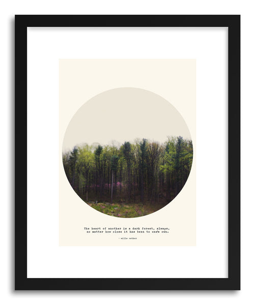 Fine art print Dark Forest by artist Tina Crespo