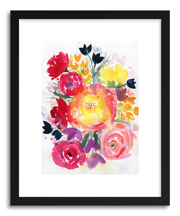 Fine art print Red Bouquet by artist Lindsay Megahed