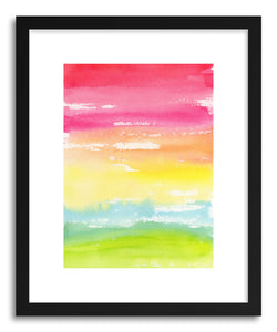 hide - Art print Rainbow Land by artist Lindsay Megahed on fine art paper