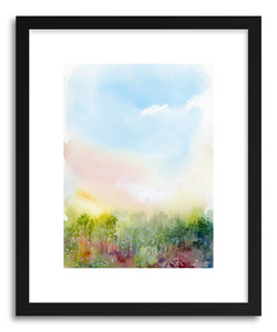 hide - Art print Spring Meadow by artist Lindsay Megahed on fine art paper