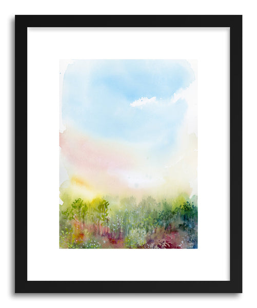 Fine art print Spring Meadow by artist Lindsay Megahed