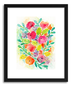 Fine art print Wildflower Bouquet by artist Lindsay Megahed