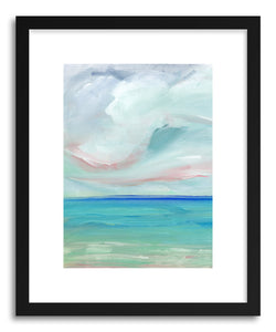 Fine art print Ocean Scape by artist Lindsay Megahed