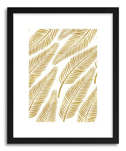 Fine art print Golden Palm by artist Uma Gokhale