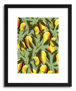 hide - Art print Mango Season Green by artist Uma Gokhale on fine art paper