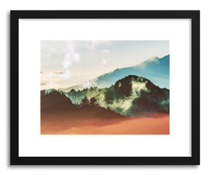 Fine art print Mighty Mountain by artist Uma Gokhale