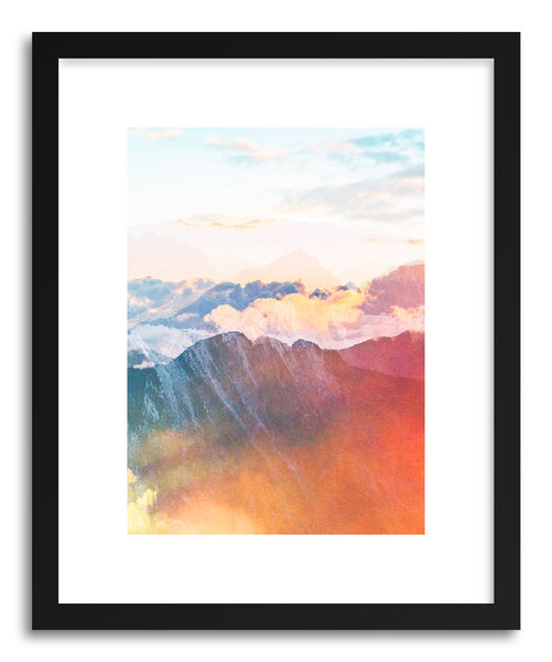 Fine art print Mountain Glory by artist Uma Gokhale