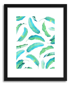 hide - Art print Banana Leaf by artist Uma Gokhale on fine art paper