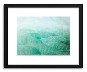 hide - Art print Ocean Ruffles by artist Karen Kardatzke on fine art paper