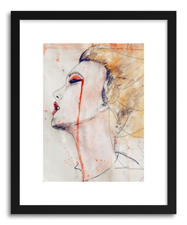 Fine art print Orange Velvet by artist Leigh Viner