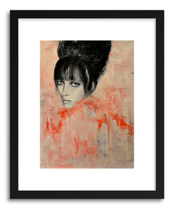 Fine art print Zee by artist Leigh Viner