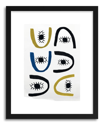 Fine art print All Eyes by artist Kerry Layton