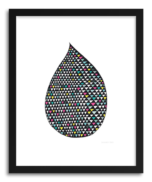 Fine art print Bright Drop by artist Kerry Layton