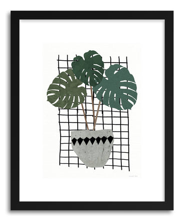 Fine art print Monstera by artist Kerry Layton