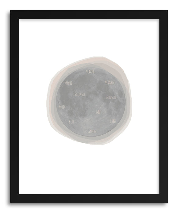 Fine art print Moon by artist Kerry Layton
