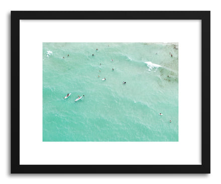 Fine art print Paddleboarders by artist Claudia Masco