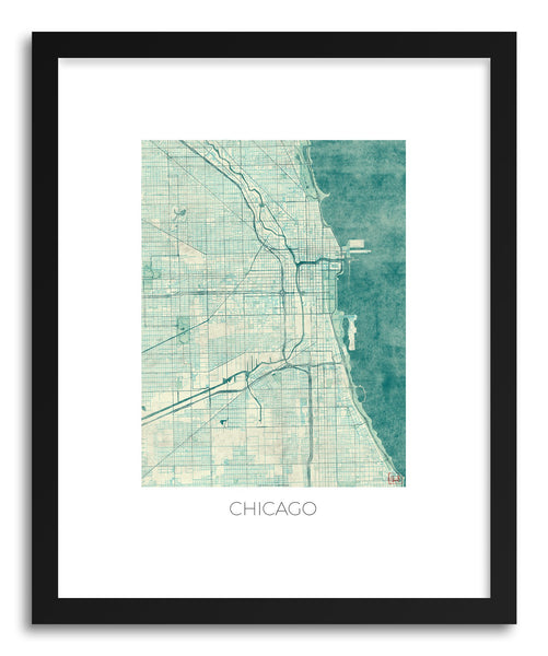 Art print Chicago by artist Hubert Roguski