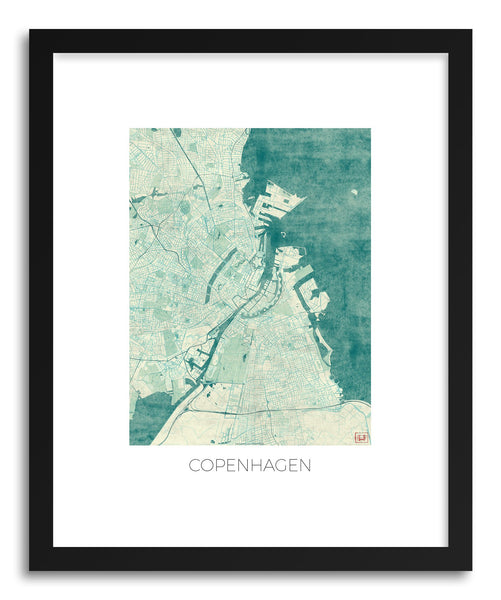 Art print Copenhagen by artist Hubert Roguski