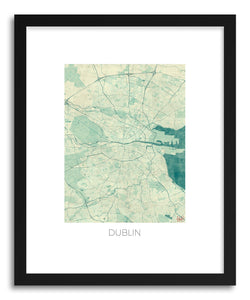 Art print Dublin by artist Hubert Roguski