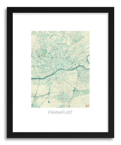 Art print Frankfurt by artist Hubert Roguski