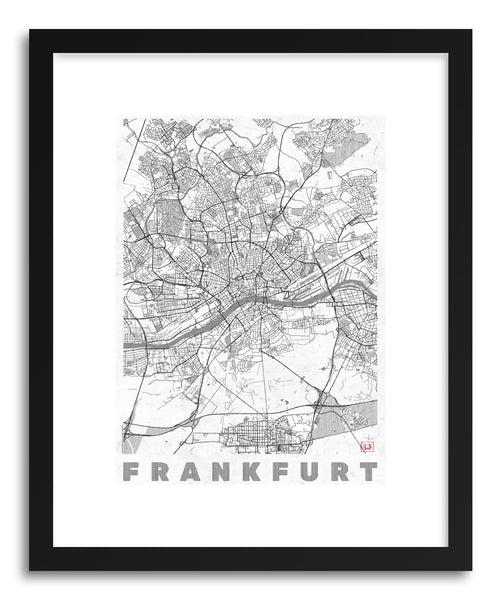 Art print GE Frankfurt by artist Hubert Roguski