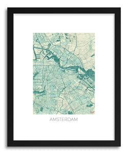 Art print Amsterdam by artist Hubert Roguski