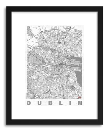 Art print IR Dublin by artist Hubert Roguski