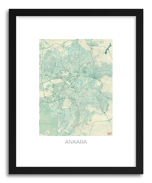 Art print Ankara by artist Hubert Roguski